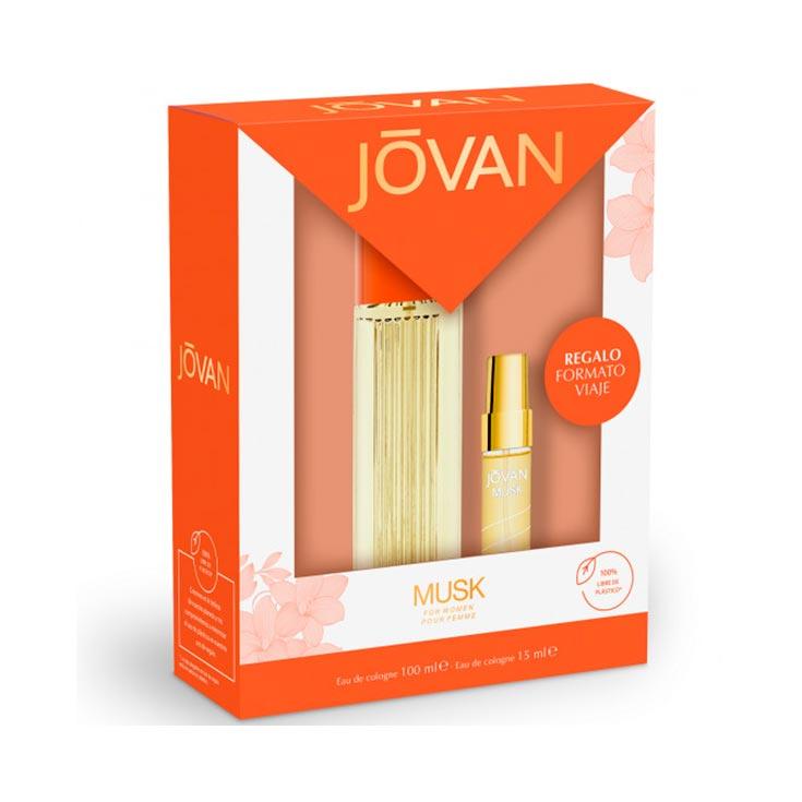 ESTUCHE JOVAN MUSK (COL.100 V+PERFUMADOR 15)