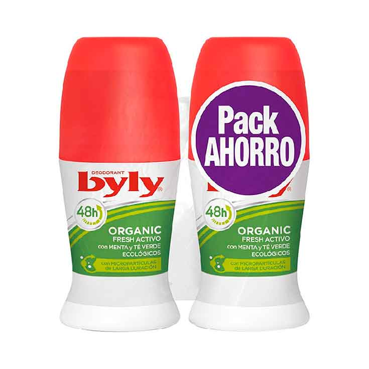 DESOD. BYLY ROLL-ON 50 ML.ORGANIC DUPLO