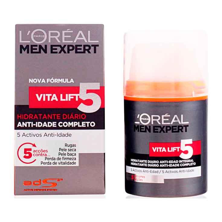 LOREAL MEN EXPERT VITALIFT 5 HIDRAT.50 ML.
