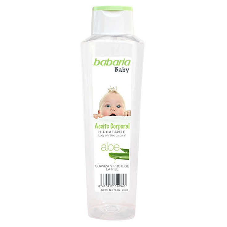 BABARIA BABY ACEITE CORPORAL 400 ML.