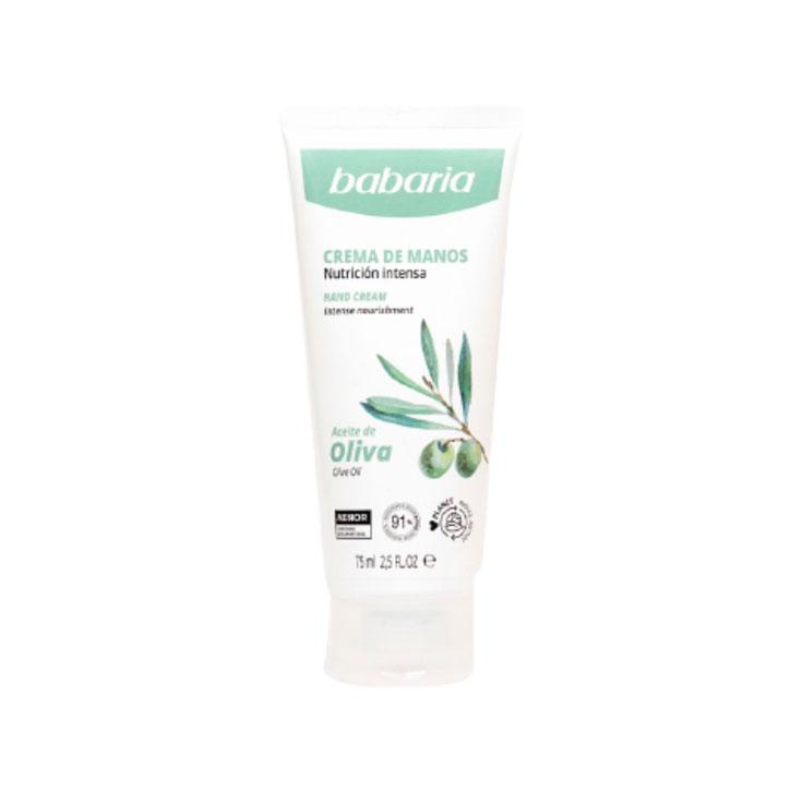 BABARIA OLIVE OIL CREMA MANOS 75 ML.