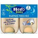 HERO BABY B.NOCHES VERD PESCAD HBN 2X190G