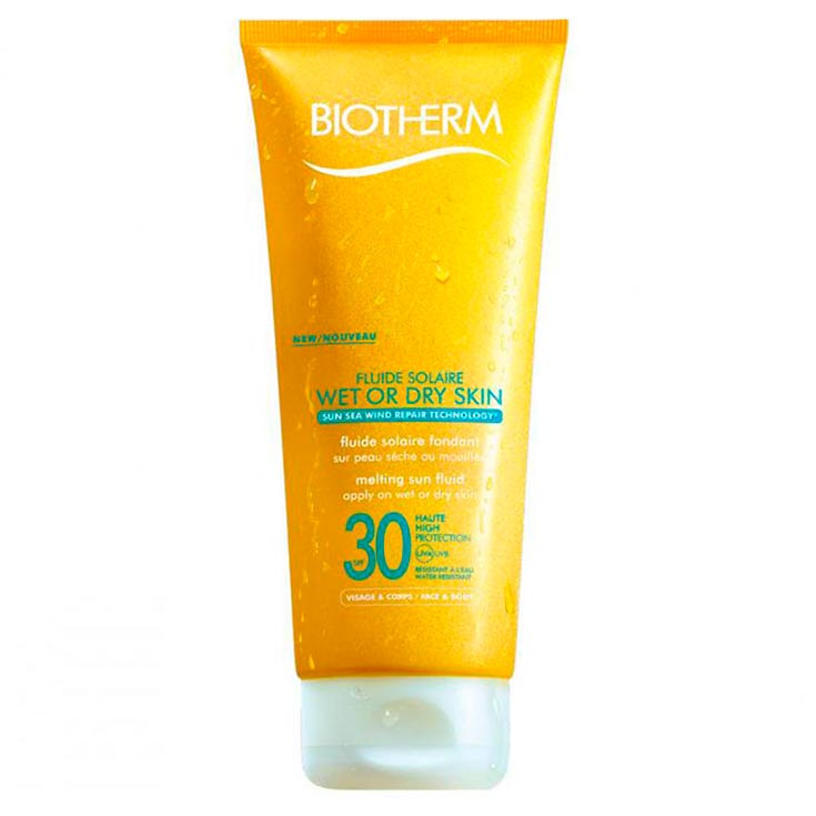 BIOTHERM FLUIDO SOLAR WET OR DRY SK.F-30 200