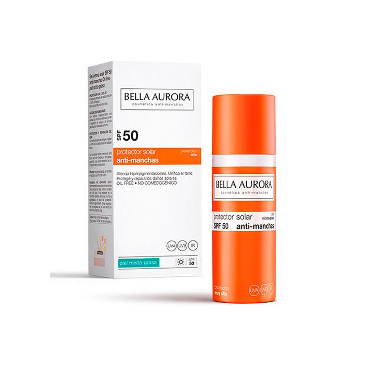 BELLA AURORA PROTECTOR SOLAR GEL - CREMA ANTI-MANCHAS SPF 50