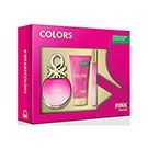 ESTUCHE BENETTON COLORS PINK (COL50+BL50)