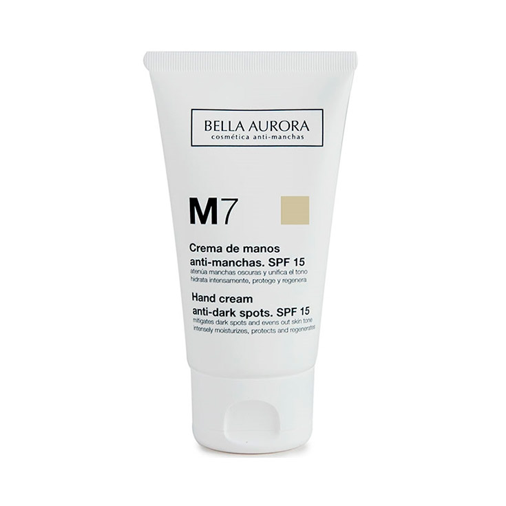 BELLA AURORA CREMA MANOS M7  75 ML.