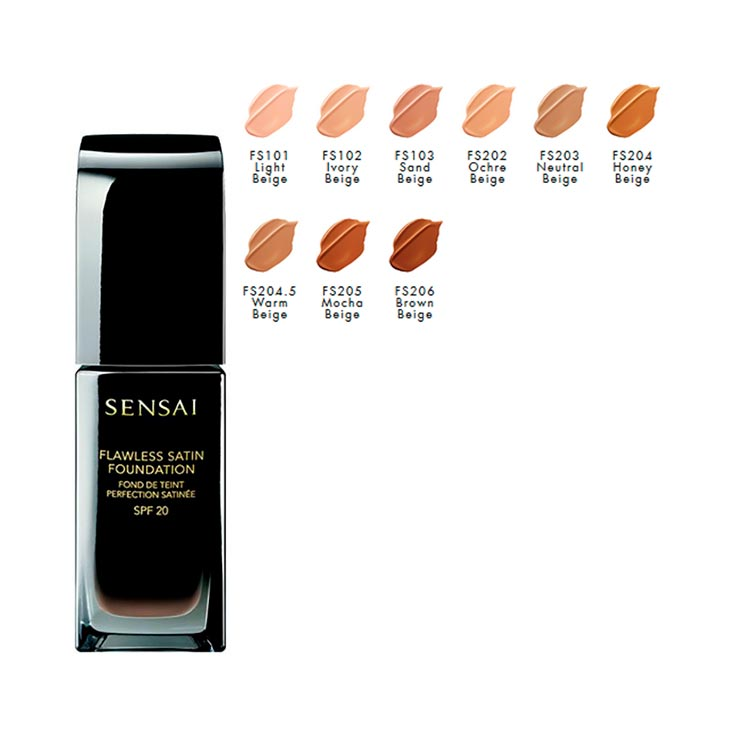 SENSAI FLAWLESS SATIN FOUND.FDT 30 ML.FS102