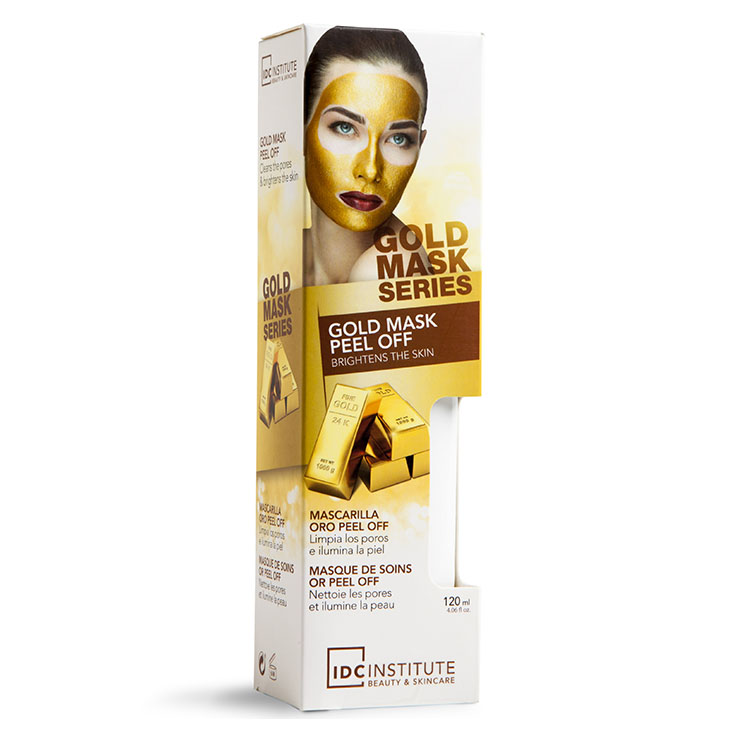 IDC GOLD MASCARILLA ORO PEEL OFF 120 ML.TUBO