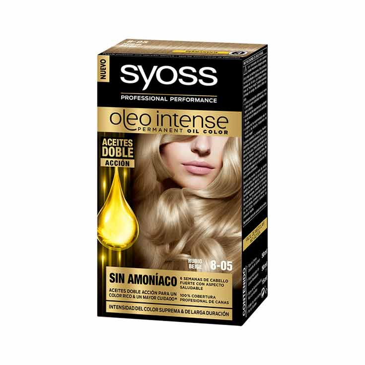 SYOSS OLEO INTENSE TINTE 8-05