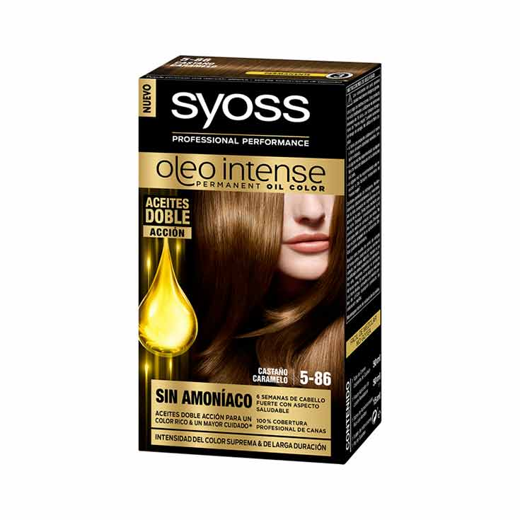SYOSS OLEO INTENSE TINTE 5-86