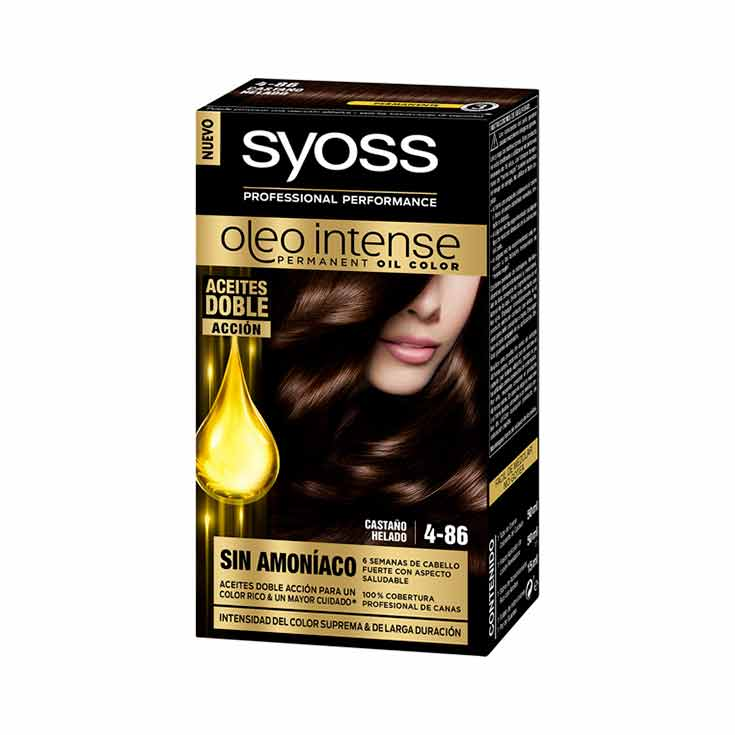 SYOSS OLEO INTENSE TINTE 4-86