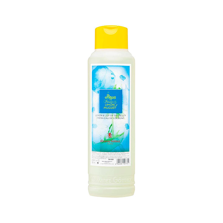 COLONIA ALVAREZ GOMEZ 750 ML.LIMON MUGUET