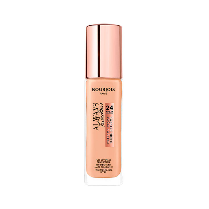 BOURJOIS ALWAYS FABULOUS 24H FOUNDATION 125