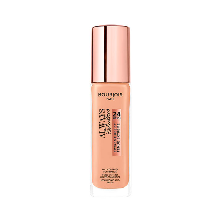 BOURJOIS ALWAYS FABULOUS 24H FOUNDATION 210