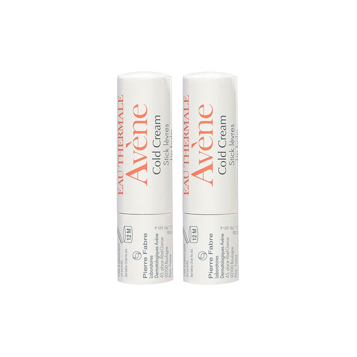 AVENE STICK LABIAL COLD CREAM 4 GR DUPLO