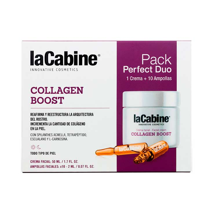 LA CABINE PERFECT DUO COLLAGEN BOOST CREMA+AM