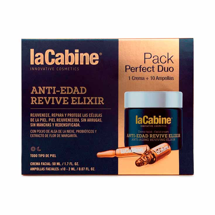 LA CABINE PERFECT DUO REVIVE ELIXIR CREMA+AMP