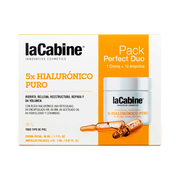 LA CABINE PERFECT DUO 5XHIALURONICO CREMA+AMP