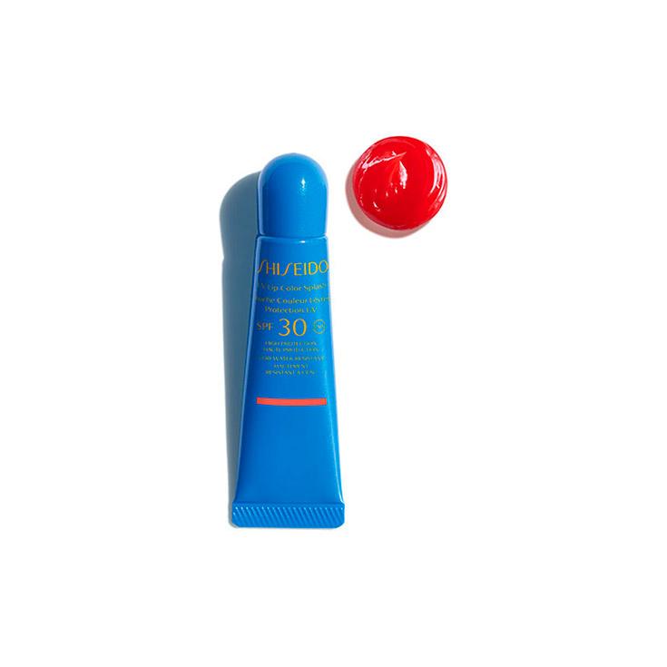 SHISEIDO UV LIP COLOR SPLASH U RED SPF30 10ML
