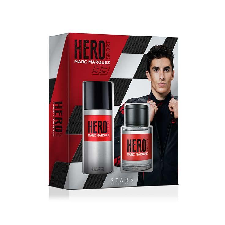 ESTUCHE HERO M. M93 (EDT100ML+DEO 150ML)