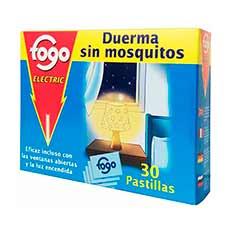 Fogo Electric Anti Mosquitos Recambio 30 Pastillas