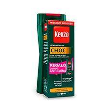 Kerzo Choc Loción Intensiva Anti-caída 150 ml + Regalo Champú Anti-caída