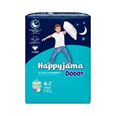 Dodot Happyjama Niño 4-7 Años 17 uds
