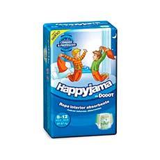 Dodot Happyjama Niño 8-12 Años 13 uds