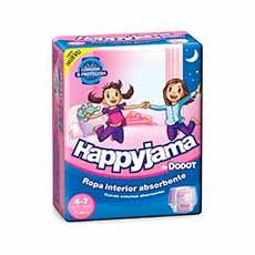 Dodot Happyjama Niña 4-7 Años 17 uds