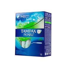 Tampax Pearl Super Tampón 18 uds