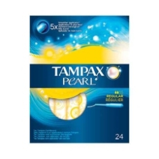 TAMPAX PEARL REGULAR 24 UDS.