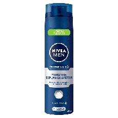 Nivea Men Potege & Cuida Espuma de Afeitar Protectora 200 + 50 ml