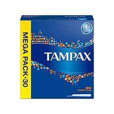 Tampax Super Plus Tampones 30 uds