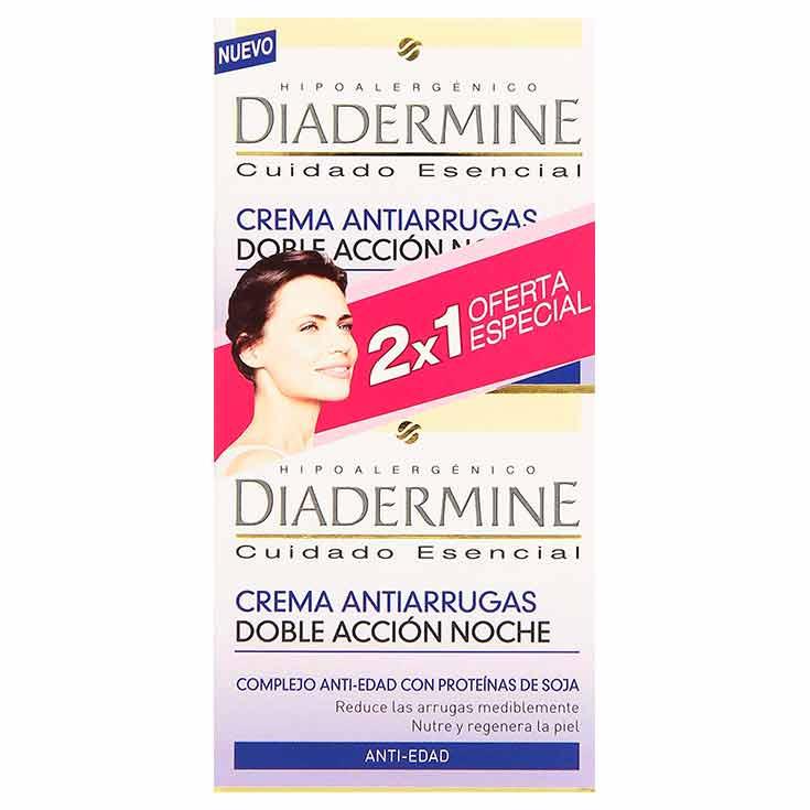 Diadermine Crema De Noche Antiarrugas Duplo