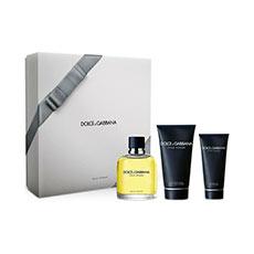 Dolce & Gabbana Pour Homme Eau de Toilette Estuche 3 piezas