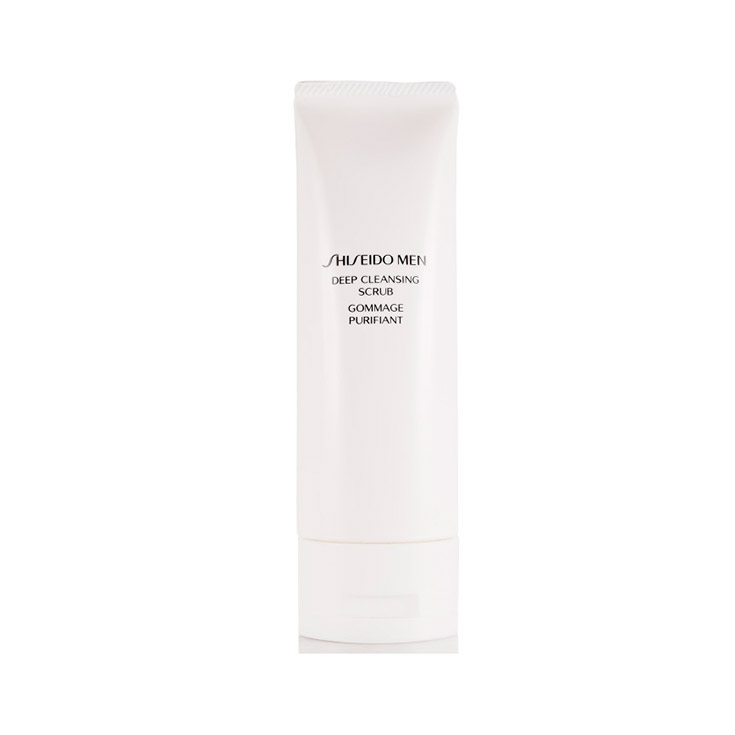 SHISEIDO MEN DEEP CLEANSING SCRUB 125 ml