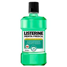 Listerine Enjuague Bucal Menta Fresca 500ml
