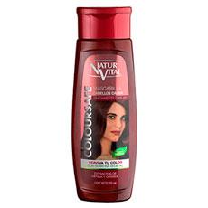Natur Vital Coloursafe Cabellos Caoba Mascarilla 300ml