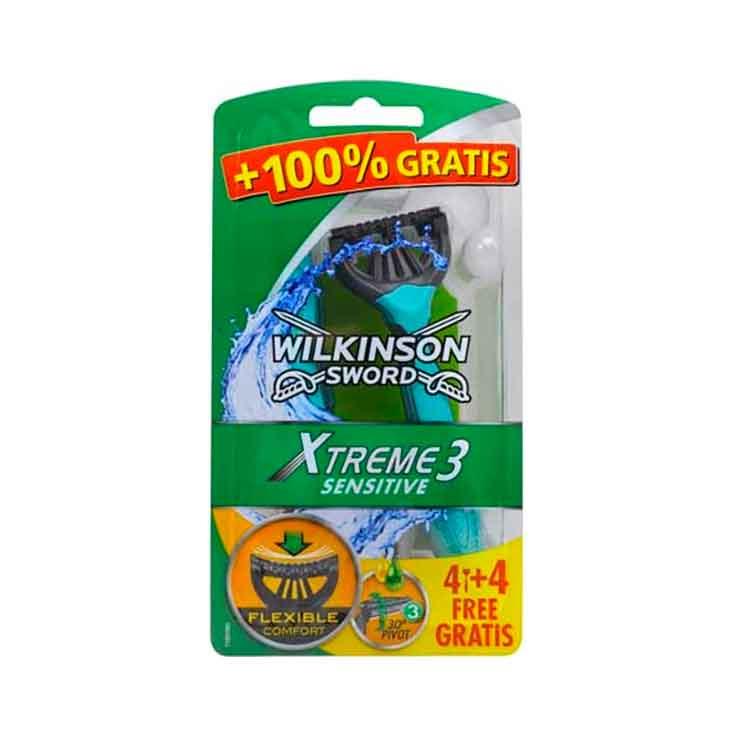 Wilkinson Máquina De Afeitado Extreme 3 4 Uds