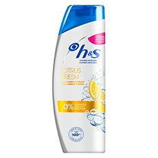 H&S CHAMPÚ ANTICASPA CITRUS FRESH 400 ML.