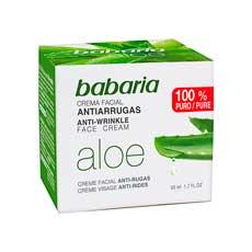 Babaria Aloe Antiarrugas Crema Facial 50 ml