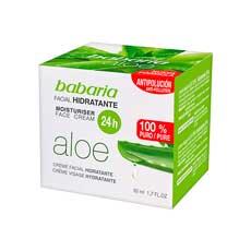 Babaria Aloe Crema Facial Hidratante 50 ml