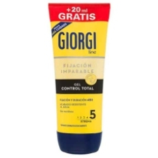 Giorgi Gel Fijador Control Total 165ml + 20ml
