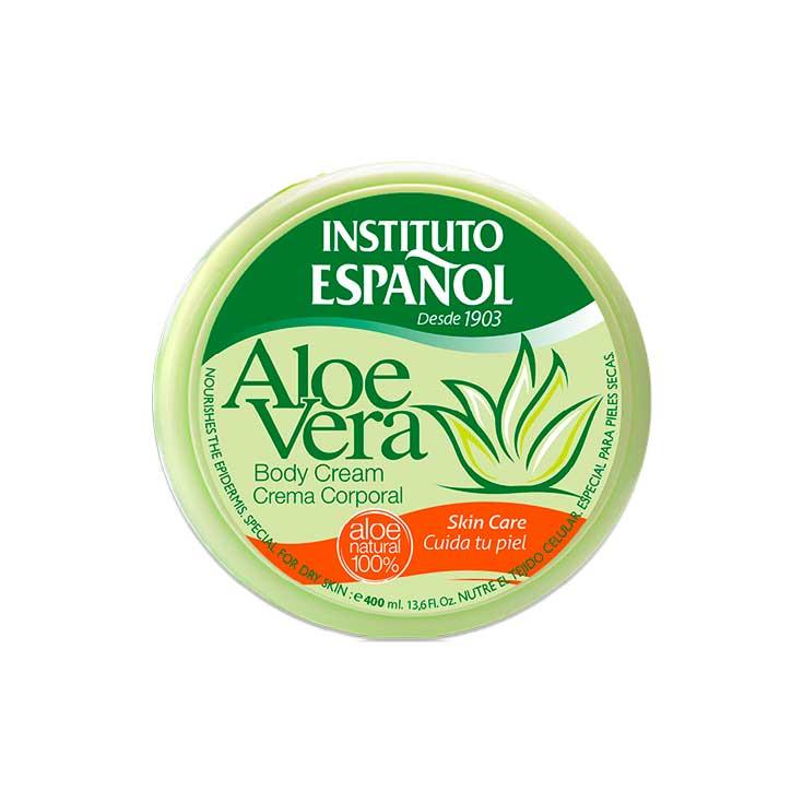 Instituto Español Crema Corporal Aloe Vera 400 Ml