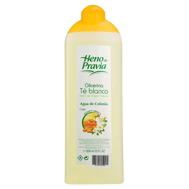 Heno De Pravia Glicerina Té Blanco Agua De Colonia 650 ml