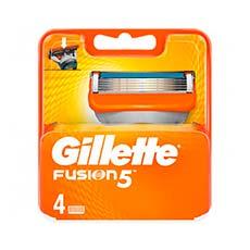Gillette Cargador Fusion 4 Uds.