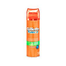 Gillette Fusion Piel Sensible Gel De Afeitar 200 ml