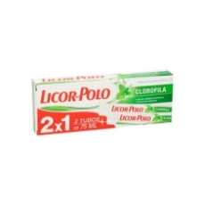 LICOR DEL POLO CREMA DENTAL CLOROFILA 75 ML. 2X1