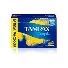 Tampax Compak Regular Tampones 36 uds