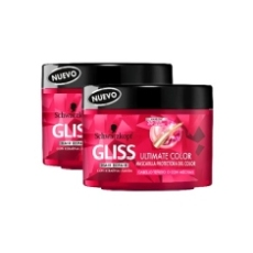 Gliss Ultimate Color Mascarilla Protectora Del Color 200ml X 2